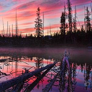 String Lake, Jackson Hole, Wyoming
