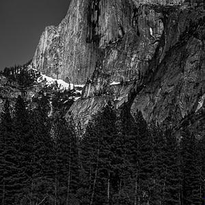 Moonlight at Half Dome - Yosemite National Park, CA