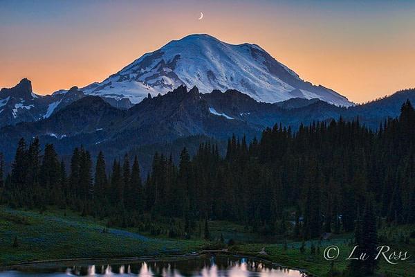 Mt Rainier National Park, Washington, USA