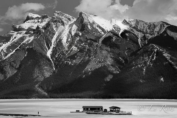 Lake Minnewanka, Banff National Park, Canada.
